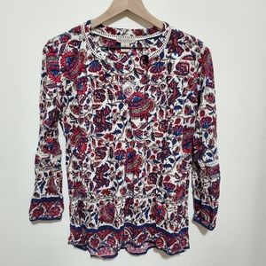 Lucky Brand | Paisley Top